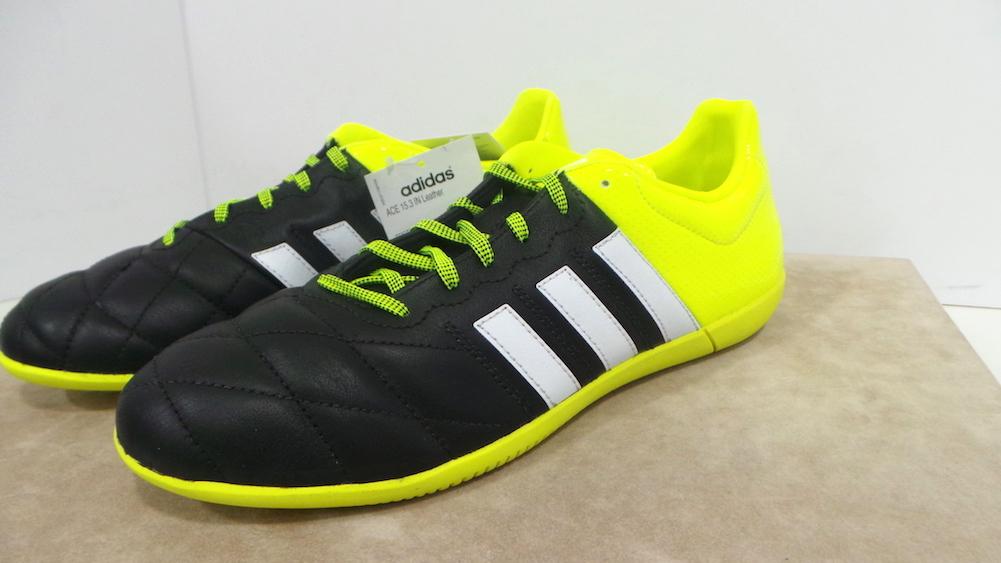 newest collection 73a04 5217b ACE 15.3 In Leather Scarpe Futsal cod.B27055 col.Cblack