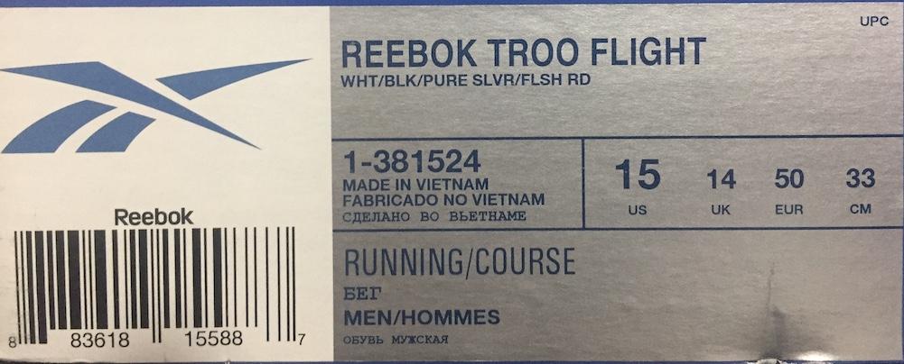 Flight 1 Troo 381524 Scarpe Grande Reebok Col bianca Cod Sportive Numero qFBW4t