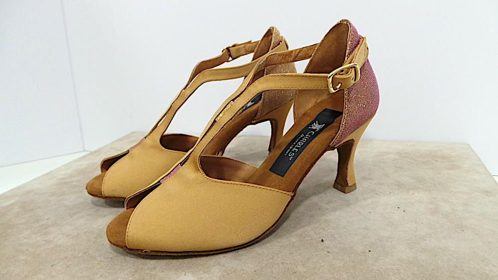 Scarpe tacco da ballo donna raso tacco Scarpe 70 cod.445 col.raso tamponato made in italy a397f0