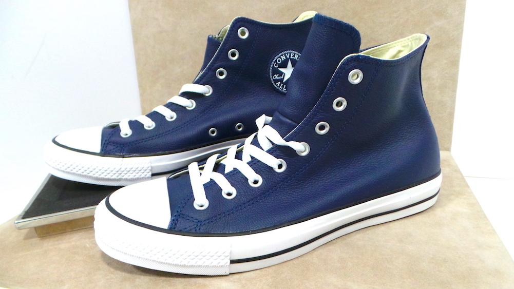 Converse pelle col. blue cod. 149490C