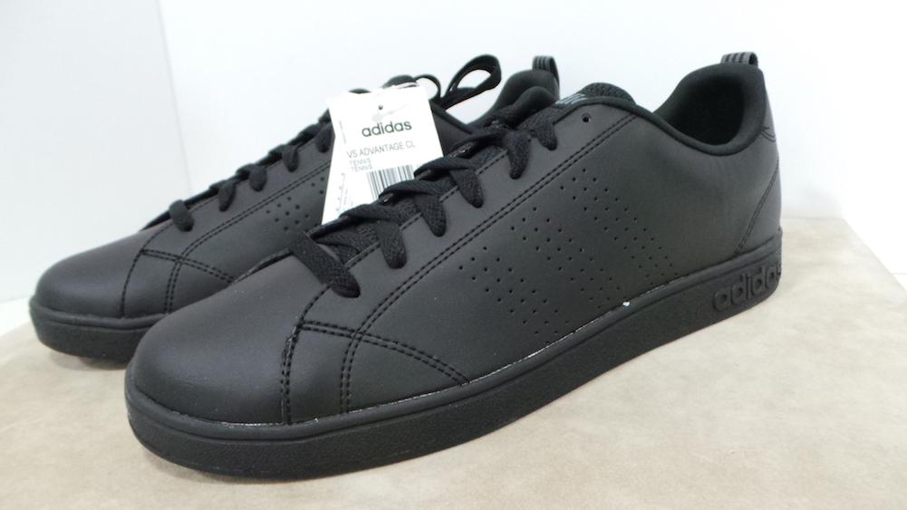 hot sale online 2b4f6 0bfa1 Adidas VS Advantage CL Scarpa in pelle col.cblack cod. F99253