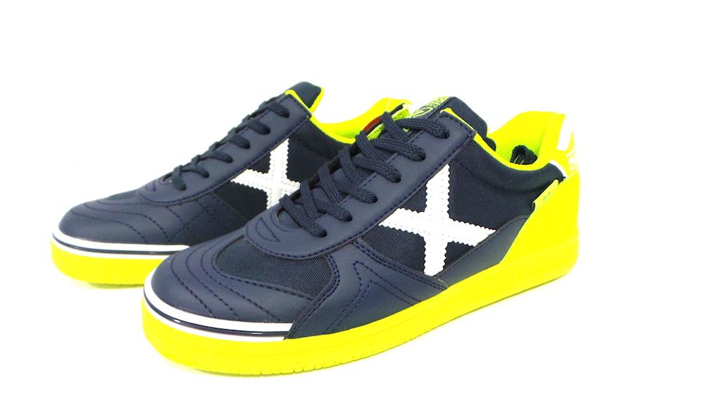 Scarpe FutsalMunich G3 Kid cod.1510797 col. marino/lima