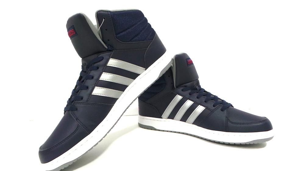 scarpe Adidas alte in pelle HOOPS VS MIND cod.AW4586 col.conavy Scarpe classiche da uomo