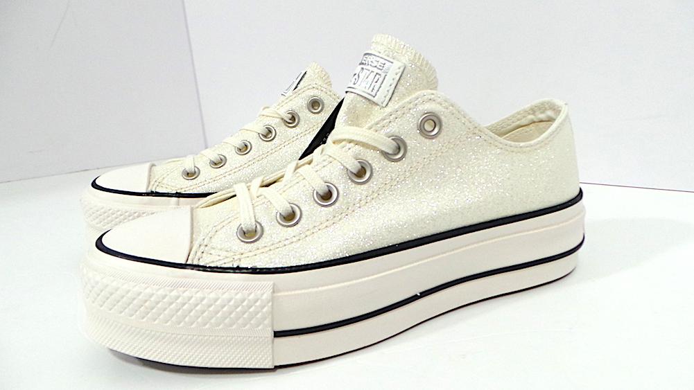Converse CTAS CLEAN LIFT OX cod.561042C col.pure silver