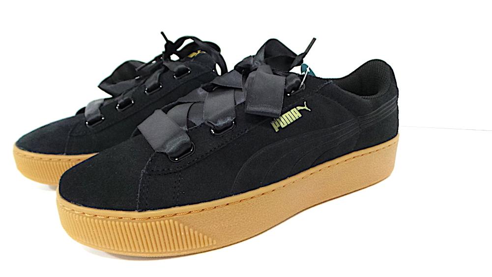 Puma Vikky Platform Ribbon cod. 36497901 col.black