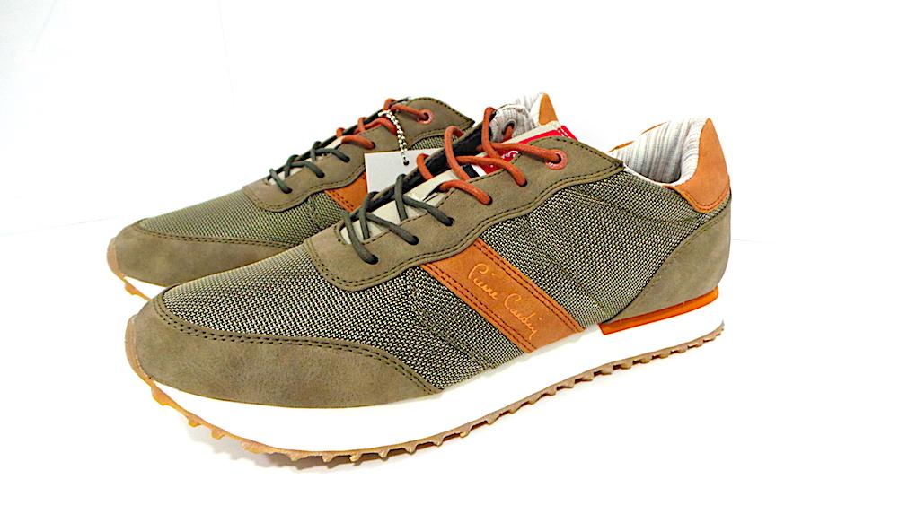 sneakers uomo PIER CARDIN COD.PC605 COL.GREEN