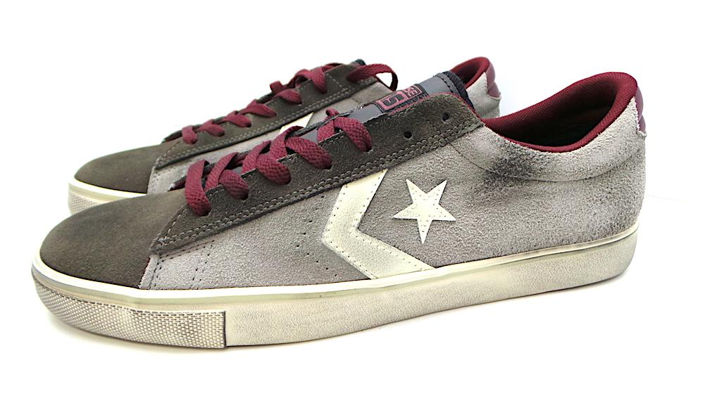 scarpe sportive Converse IN PELLE PRO LTHR VULC O COD.150630C COL.PHAETON GREY