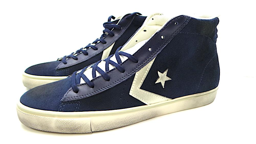 scarpe sportive Converse PRO LTHR VULC M COD.150625C COL.DRESS BLUES