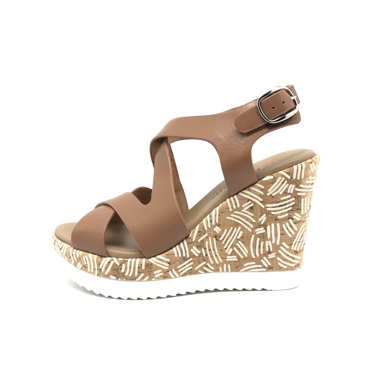 scarpe bambina PHIL GATIER BY REPO 26 EU sandali platino pelle strass AE139-B